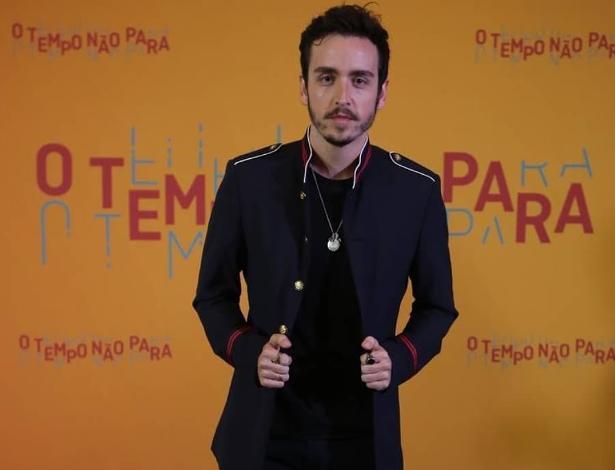 """Wagner Santisteban irá interpretar o personagem Pedro Parede em """"O Tempo Não Para"""""""