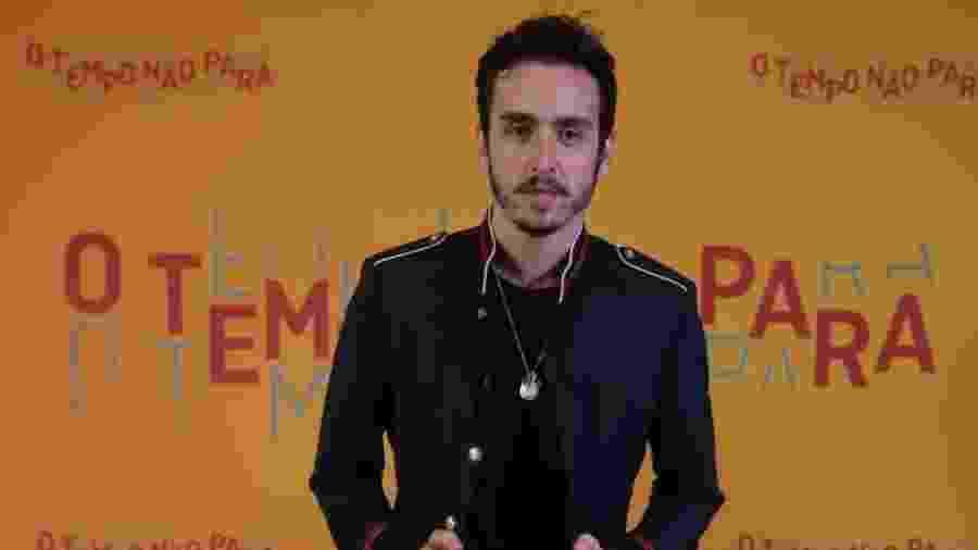 """Wagner Santisteban interpretou o personagem Pedro Parede em """"O Tempo Não Para"""" - Reprodução/Instagram/o_temponaopara"""