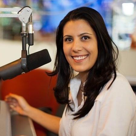 A âncora da Band, Sheila Magalhães - Divulgação/BandNews FM