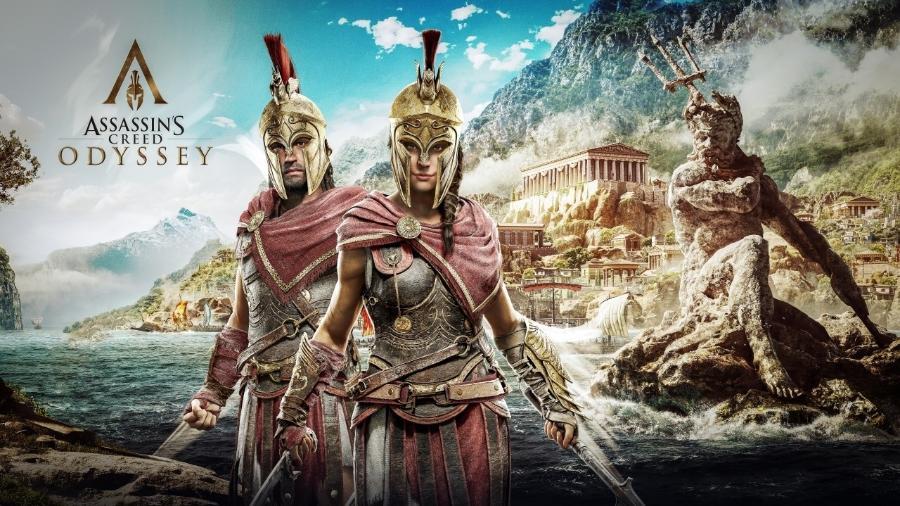 """Assassin""""s Creed Odyssey - Reprodução"""