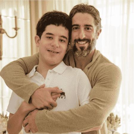 Marcos Mion e Romeo - Reprodução/Instagram