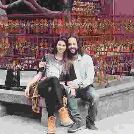Giulia Britto e Gabriel Pensador estavam juntos há seis anos - Reprodução/Instagram/@giuliabrittov - Reprodução/Instagram/@giuliabrittov