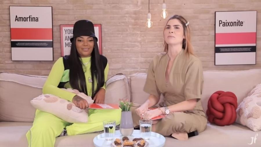 Ludmilla diz ter tomado banho de champanhe em festa - Reprodução/YouTube