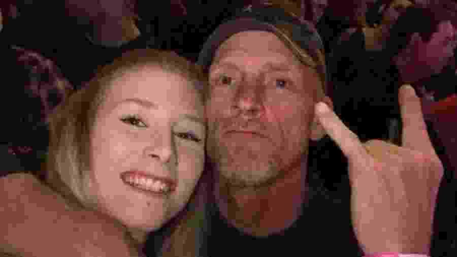 Kari Carberry e o pai, Darrin Carberry - Reprodução