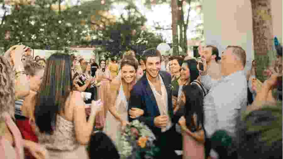 Casamento de Laura Neiva e Chay Suede - Reprodução/Instagram