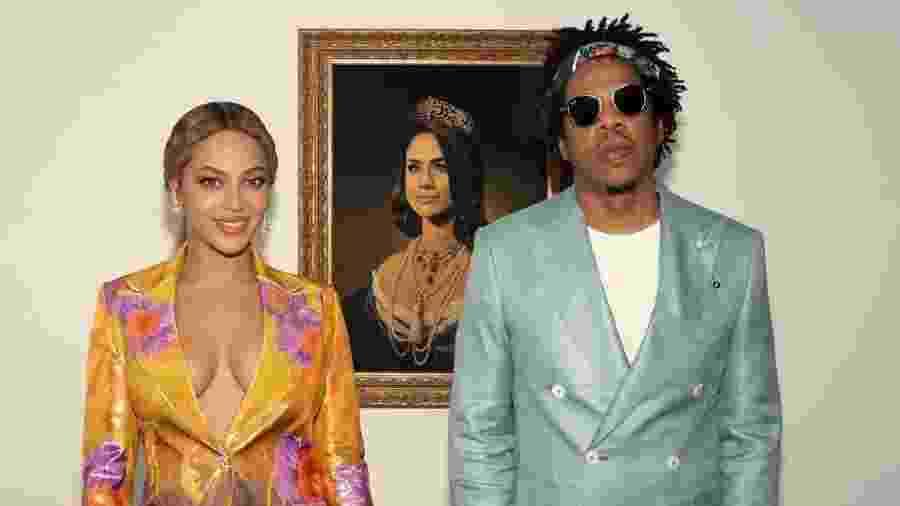 Jay-Z e Beyoncé  - Reprodução/Instagram