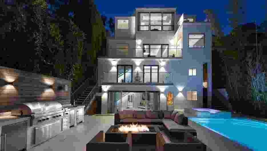 A mansão onde a Spice Girl Mel B morou, em West Hollywood - The Agency