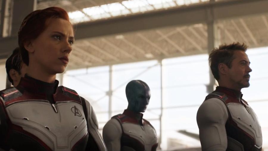 """Uniformes brancos em """"Vingadores: Ultimato"""" - Divulgação"""
