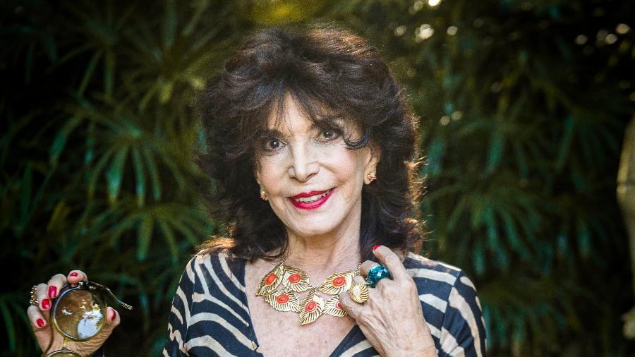 A atriz Lady Francisco - Raquel Cunha/Globo