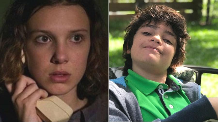 Eleven De Stranger Things Manda Recado Para Cebolinha Do Filme