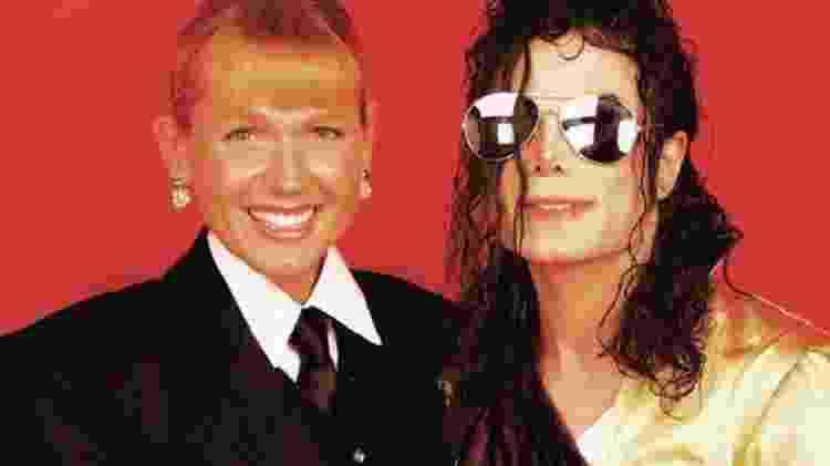 Xuxa e Michael Jackson - Reprodução - Reprodução