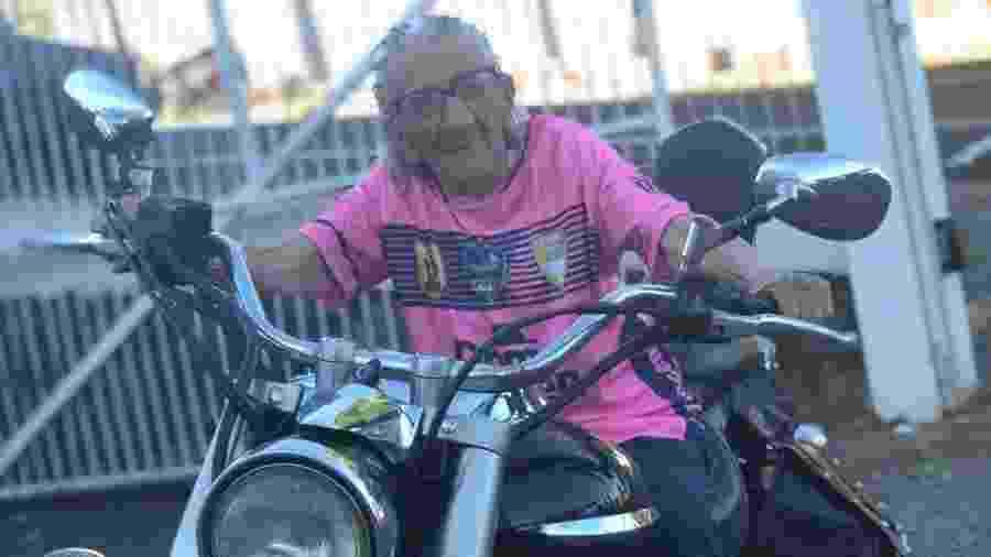 Quando a pandemia passar, vó Antônia quer encontrar os amigos e andar de moto  - Arquivo Pessoal