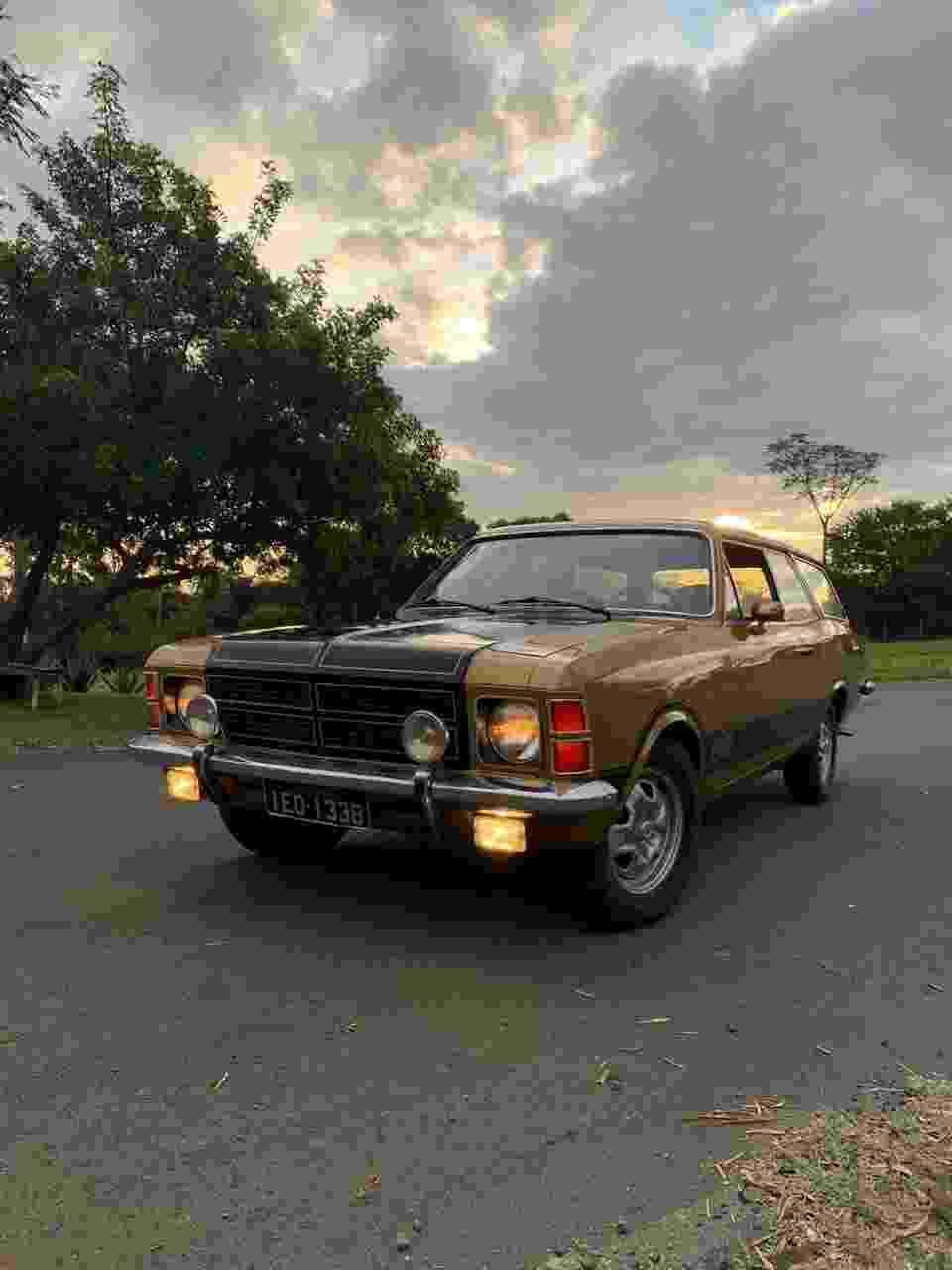 Chevrolet Caravan SS 1978 Alexandre Badolato coleção colecionador motor 6 cilindros - Arquivo pessoal