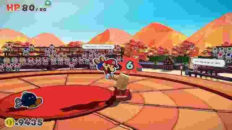 Paper Mario the Origami King 1 - Daniel Esdras/GameHall - Daniel Esdras/GameHall