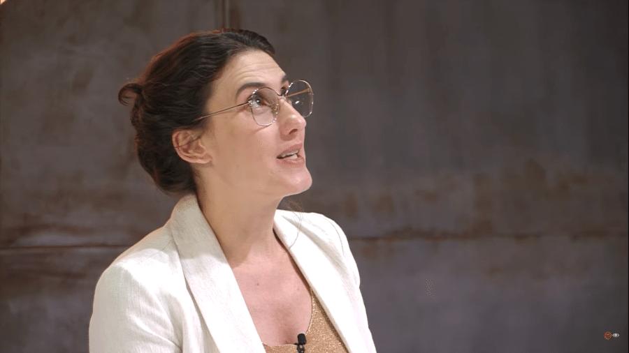 Paola Carosella elucubra no Masterchef - Reprodução/Band