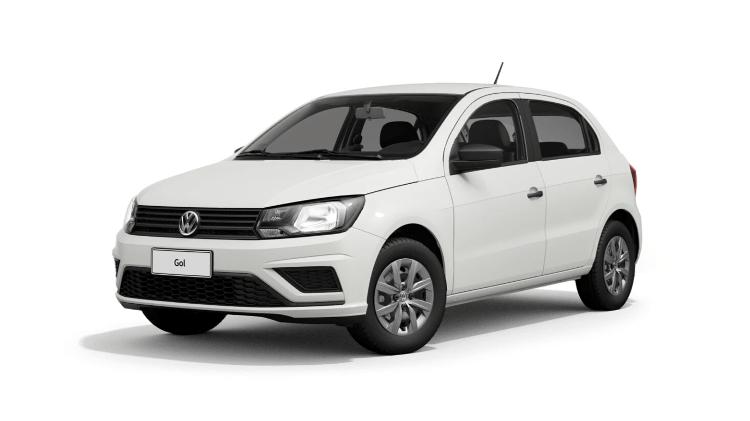 Volkswagen Gol 1.0 2020 - Divulgação - Divulgação