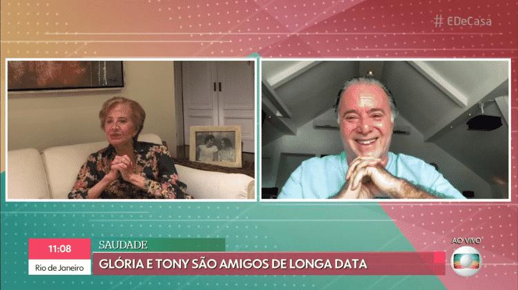 Glória Menezes manda vídeo para Tony Ramos no 'É de Casa' - Reprodução/Globoplay - Reprodução/Globoplay
