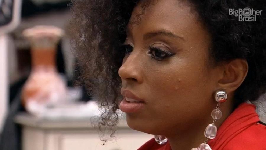 BBB 21: Lumena conta votos com Gilberto sobre Arthur - Reprodução/Globoplay