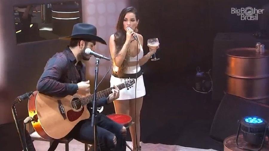 BBB 21: Rodolffo e Juliette cantam juntos em festa na casa - Reprodução/Globoplay