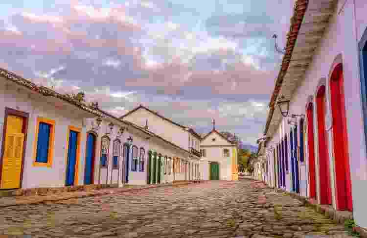 Ruas de Paraty, no Rio de Janeiro - Getty Images/iStockphoto - Getty Images/iStockphoto