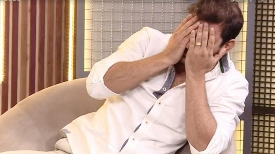 BBB 21: Caio fica indignado ao ver que comeu macarrão com detergente de Fiuk - Reprodução/ Globoplay
