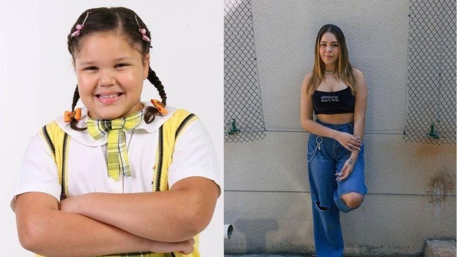Filha de Simony mostra antes e depois - Reprodução/Instagram