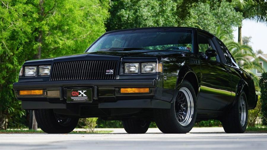 Buick GNX 1987 - Divulgação