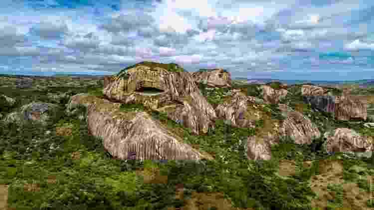 A região do Parque da Pedra da Boca fica a 600 metros do nível do mar, o que garante clima ameno - Marco Pimentel/PBTUR - Marco Pimentel/PBTUR
