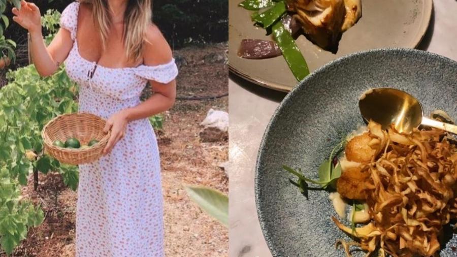 Giovanna Ewbank publica fotos de pratos em jantar com casal de amigos  - Reprodução/Instagram
