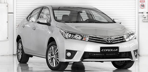 Corolla Altis é opção aos alemães para quem é fã da Toyota - Divulgação