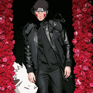 Naruto na moda - Reprodução/Tumblr/NarutoxFashion