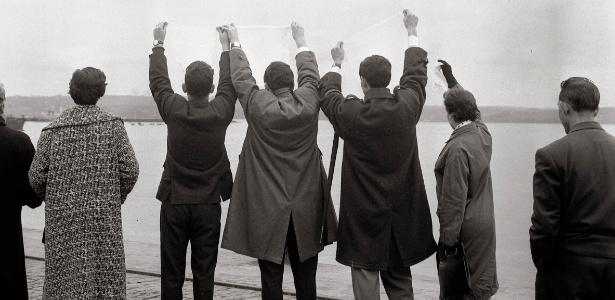 """Exposição """"Os Adeuses - Fotografias de Alberto Martí"""" fica em cartaz de 16 de dezembro a 27 de fevereiro - Divulgação"""