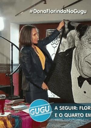 Florinda Meza fala sobre os últimos dias de Roberto Bolaños e se emociona com presente de Gugu - Reprodução/TV Record