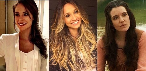 As atrizes Paola Oliveira, Thaissa Carvalho e Larissa Maciel - Reprodução/Instagram