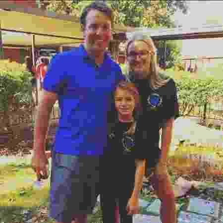 Maddie Aldridge com a mãe, Jamie Lynn Spears, e o padrasto, Jamie Watson - Reprodução/Instagram