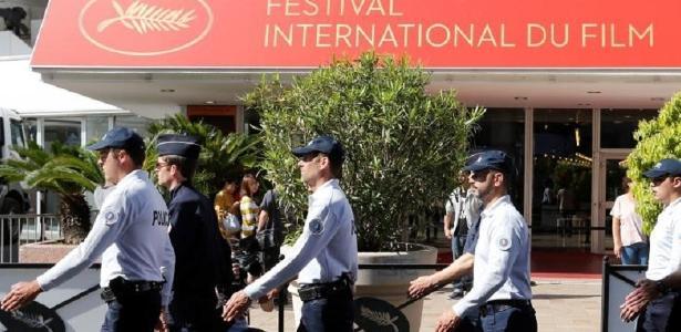 Polícia francesa faz ronda no Festival de Cannes