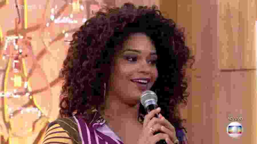 Atriz Juliana Alves revela que está grávida de uma menina - Reprodução/TV Globo