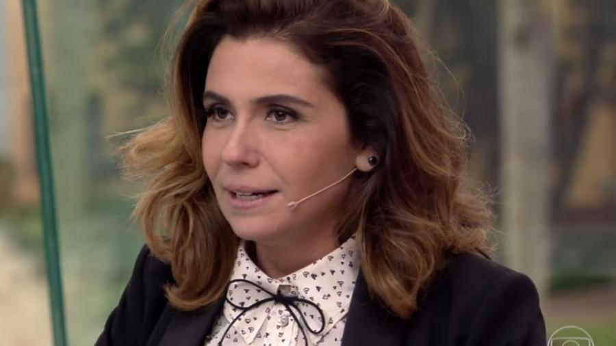 """Giovanna Antonelli no quadro Meu Vídeo é Show no """"Vídeo Show"""" - Reprodução/TV Globo"""