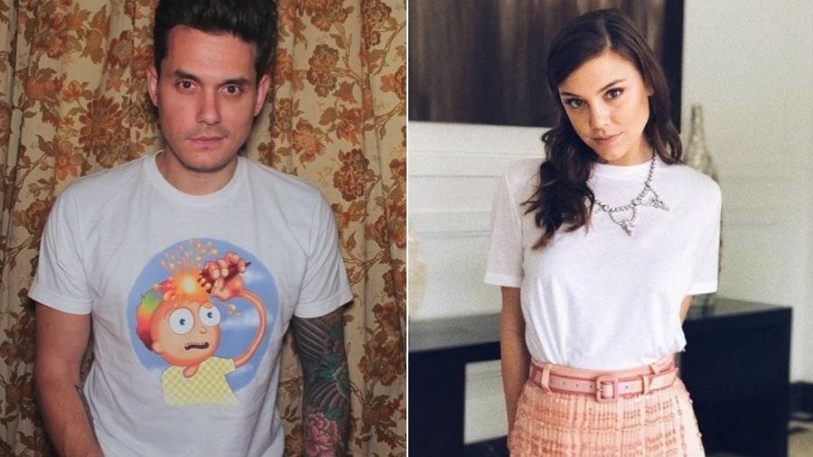 John Mayer e Alice Wegmann - Reprodução/Instagram