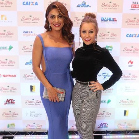Juliana Paes e Carla Diaz - Reprodução/Instagram