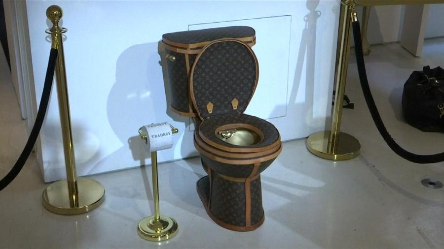 Um vaso sanitário por R$ 328 mil, já pensou? - Reprodução