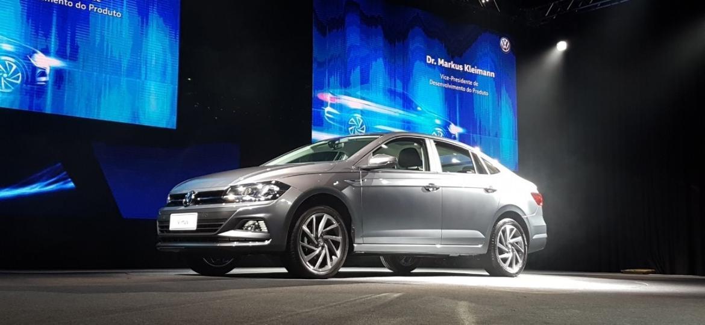 Esse é o Volkswagen Virtus, sedã do Polo: linhas são um pouco mais conservadoras que do hatch - Murilo Góes/UOL