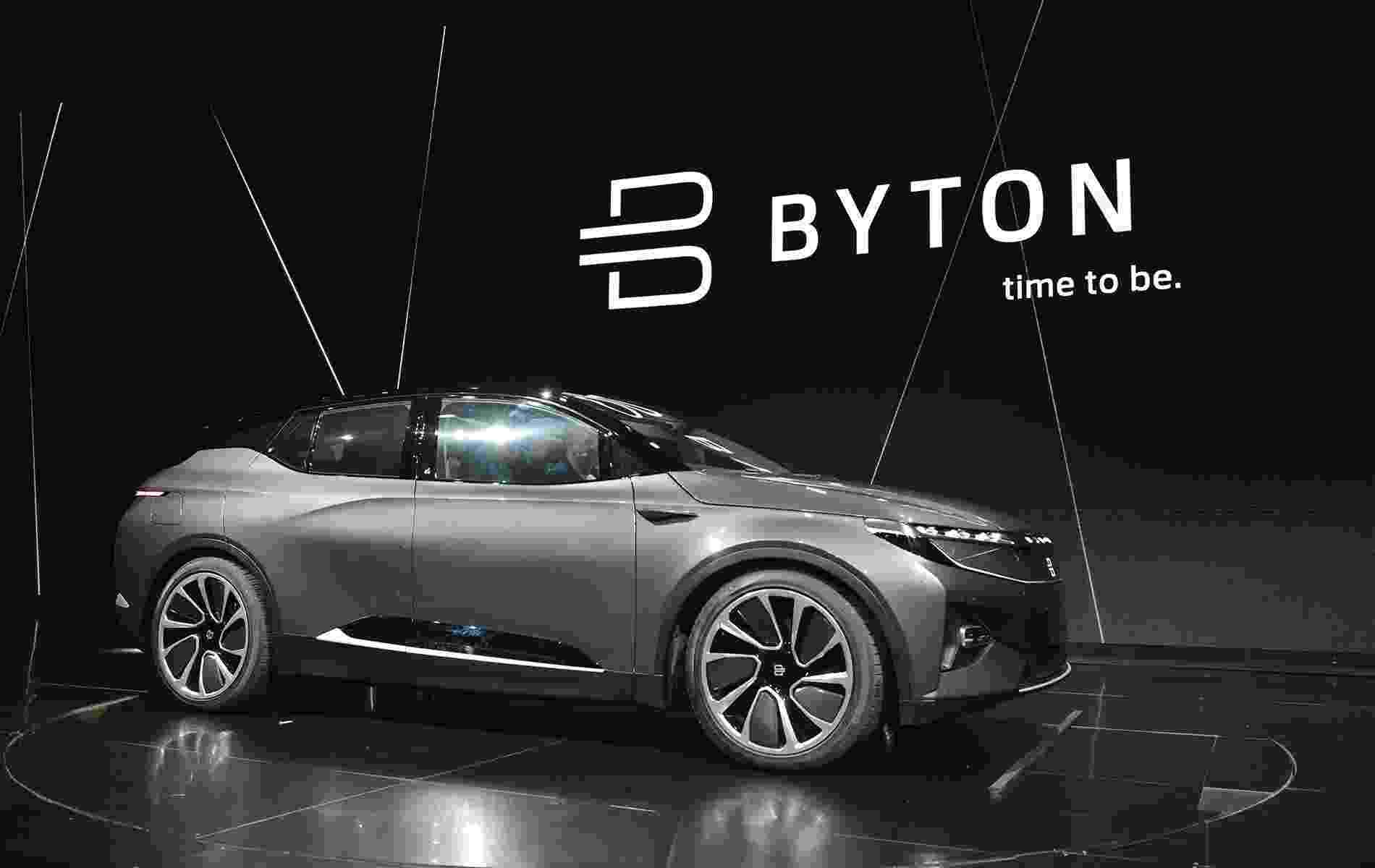 Byton Concept - MANDEL NGAN/AFP