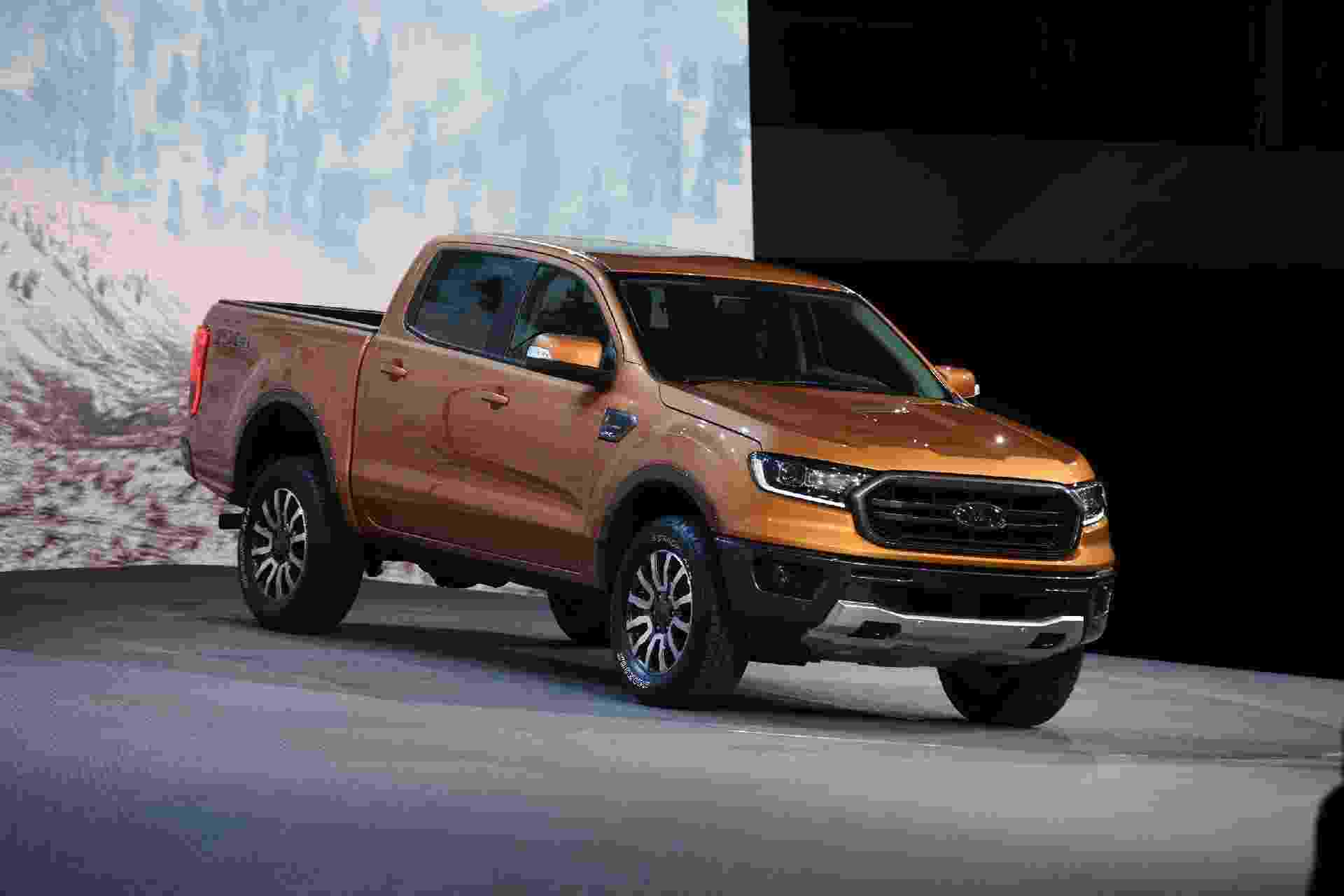 Ford Ranger 2019 americana - Murilo Góes/UOL
