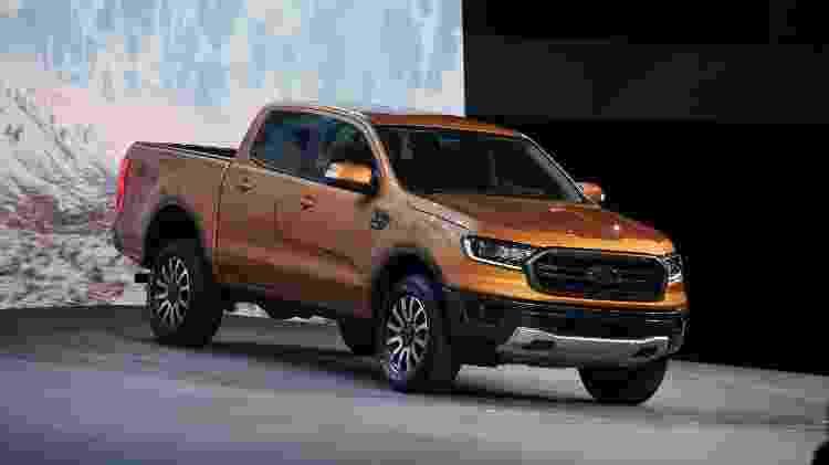 Ford Ranger 2019 é resposta a Chevrolet e Mercedes; podia vir ao Brasil... - Murilo Góes/UOL - Murilo Góes/UOL