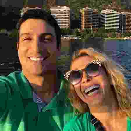 Joelma e o namorado, Alessandro Cavalcante. - Reprodução/Instagram - Reprodução/Instagram