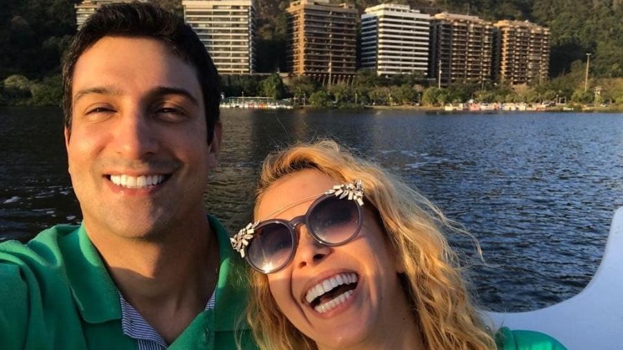 Joelma e o namorado, Alessandro Cavalcante. - Reprodução/Instagram