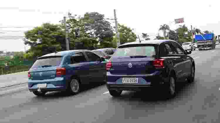 Volkswagen Polo 1.0 MPI traseira - Murilo Góes/UOL - Murilo Góes/UOL