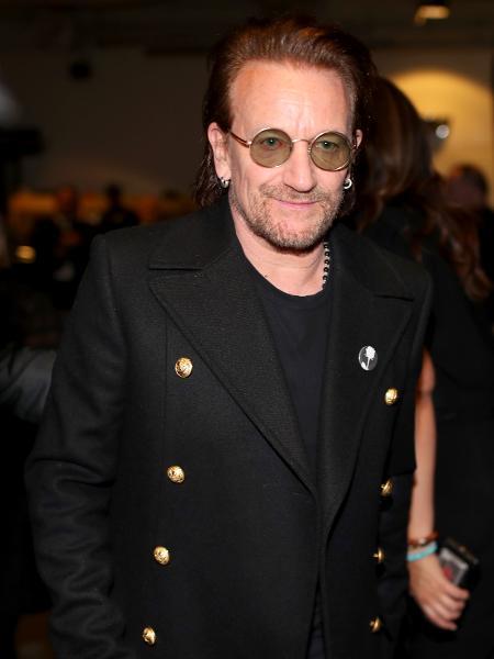 Bono, vocalista do U2 - Getty Images