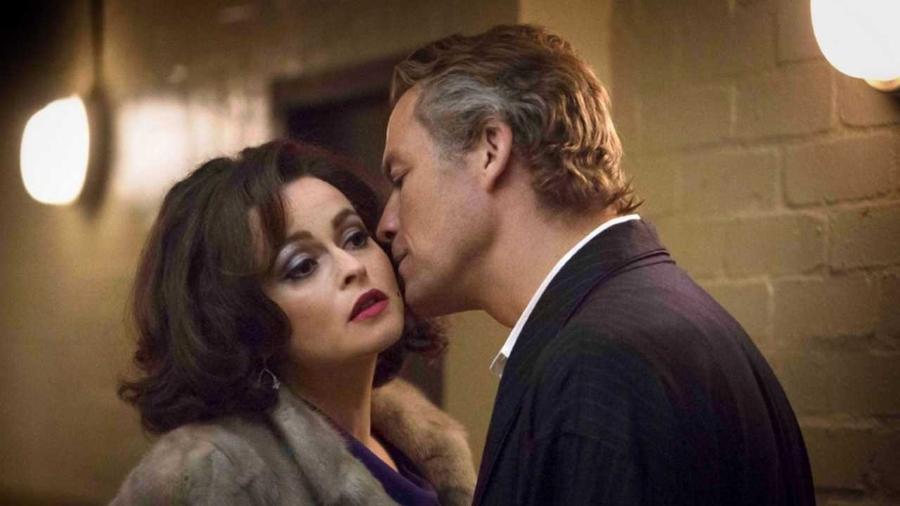 """Dominic West e Helena Bonham Carter em cena do telefilme """"Burton and Taylor"""", da BBC - Divulgação"""